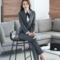 2016 Women Formal Suit Set Office Ladies Work wear Female Pant Suits High Quality elegant business uniform style