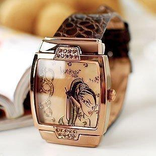 wholesale fashion watch wrist watch /brand watch/LuscigusGirls-Colorful new diamond watch 6581