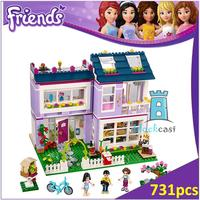 BELA Buidling Blocks 10541 Friends Figures Emma S House 41095 Model Compatible LEPIN Bricks Figure Toy