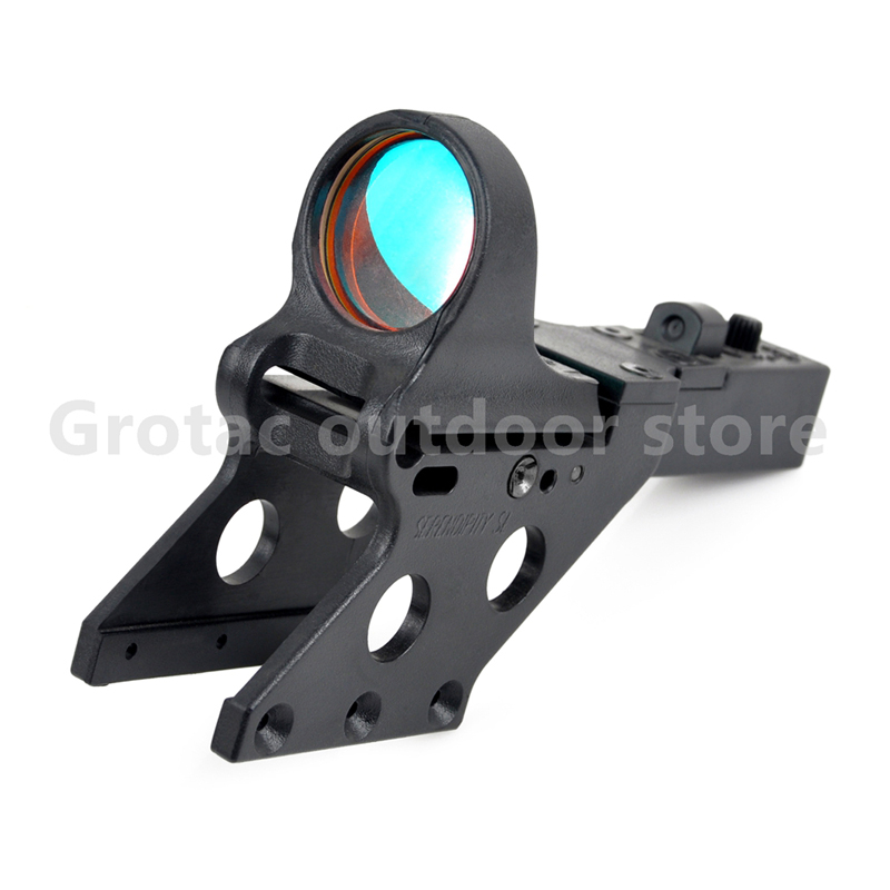 SeeMore Reflex Sight For HI-CAPA 1*29 C-More Style Tactical Airsoft Red Dot Sight W/ Serendipity Mount For Hunting