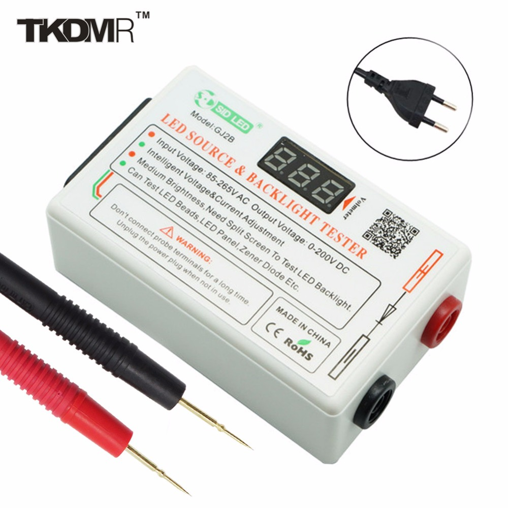 ФОТО TD 0-250V Output Smart-Fit Voltage LED&LCD TV Normal Brightness Tester Tool Lamp Beads Board Detect Repair Free Shipping GJ2B
