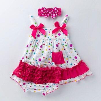 Baby Ruffles Bloomers Dresses Baby Baby Girl Dresses