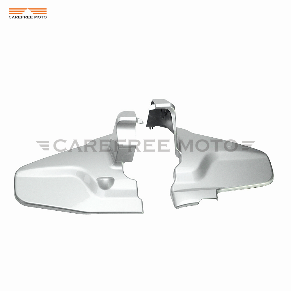 Silver Motorcycle Engine Transmission Insurance Cover case for Honda Goldwing GL1800 2012 2013 2014 2015