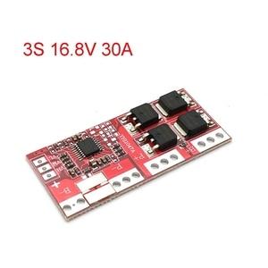 Image 2 - 3S 4s 30A 14.4V 14.8V 16.8V بطارية ليثيوم أيون الحالية 18650 BMS لوحة حماية الشاحن