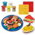 Kids Gift Play Dough Mold Set Healthy Sandwich Mode Soft Colourful Craft Clay Educational Playdough Polymer Plasticine Toys