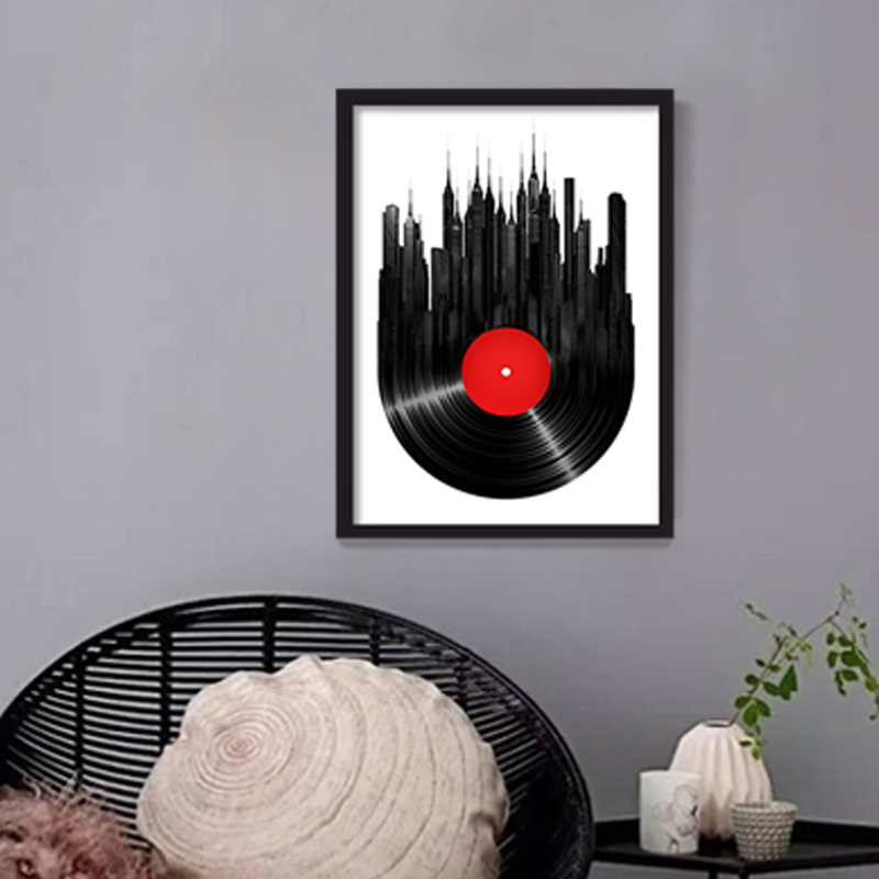 Darts Wheel Target Canvas Painting Home Wall Decor Picture Print Abstract Art Building Decoration for Office No Frame