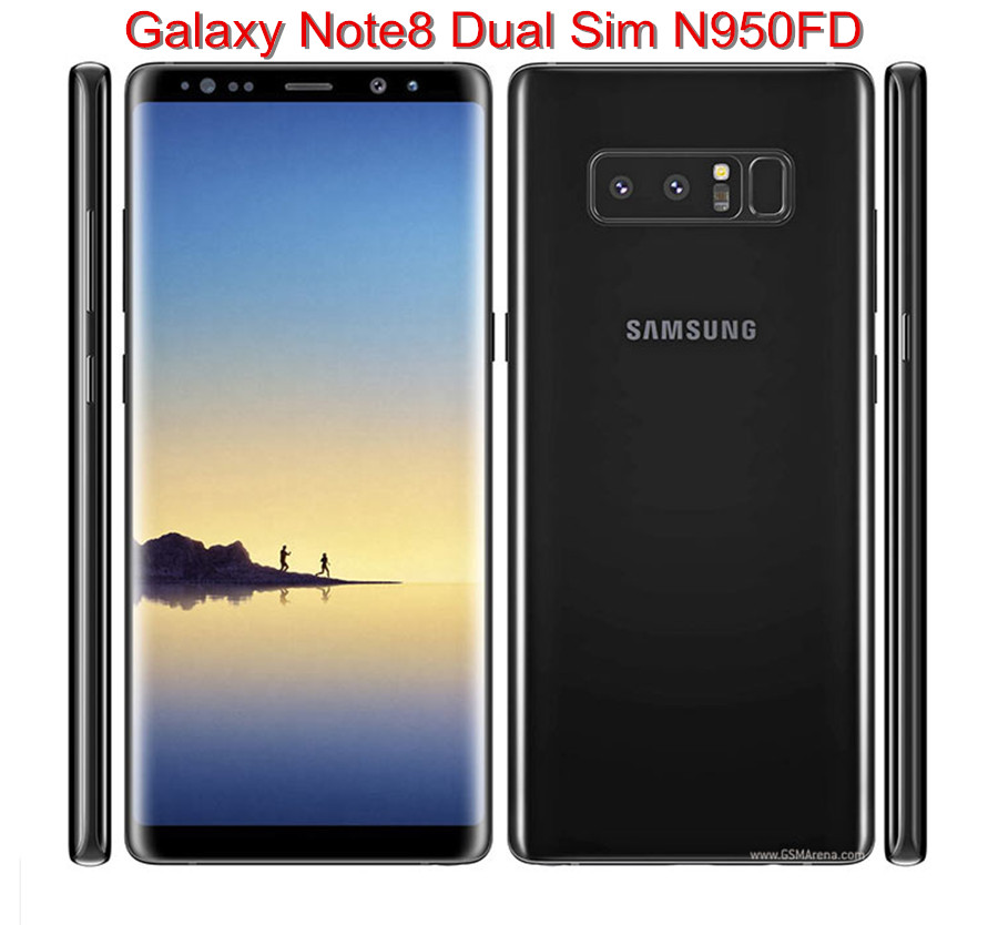 Samsung Galaxy Note8 Note 8 N950FD Dual Sim Original Unlocked LTE Mobile Phone Octa Core 6.3