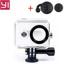 В наличии! Новый оригинальный Водонепроницаемый чехол для Xiaomi Yi Action Камера 40 м Дайвинг спортивные Водонепроницаемый коробка для xiaoyi Камера