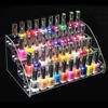 New Promotion Makeup Cosmetic 4 Tiers Clear Acrylic Organizer Mac Lipstick Jewelry Display Stand Holder Nail