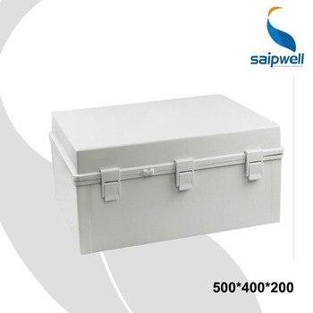 500*400*200 Waterproof Enclosures for Electronics With Lock PC Material Plastic Enclosure Lock SP-PCG-504020