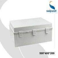 Nuevo 500 400 200 carcasas impermeables para electrónica con bloqueo Material de PC cierre de caja de