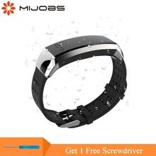 Mijobs Handschlaufe für Huawei Band 2 Pro B19 B29 Silikon Smart Watch Band Ersatz für Huawei Band 2 Pro Fitness Armband