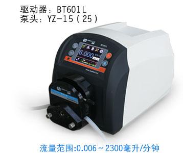 BT601L YT15 Plastic Intelligent peristaltic pump Adjustable High Big Flow Control Lab Liquid Pump 0.006-2300ml/min bosch bt 250 0 601 096 a00