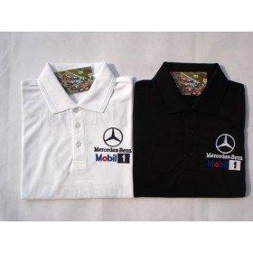 Mercedes Benz Mobil 1 T Shirts F1 Mclaren F1 T Shirt Benz Shirt Free Shipping Mens Short Sleeve