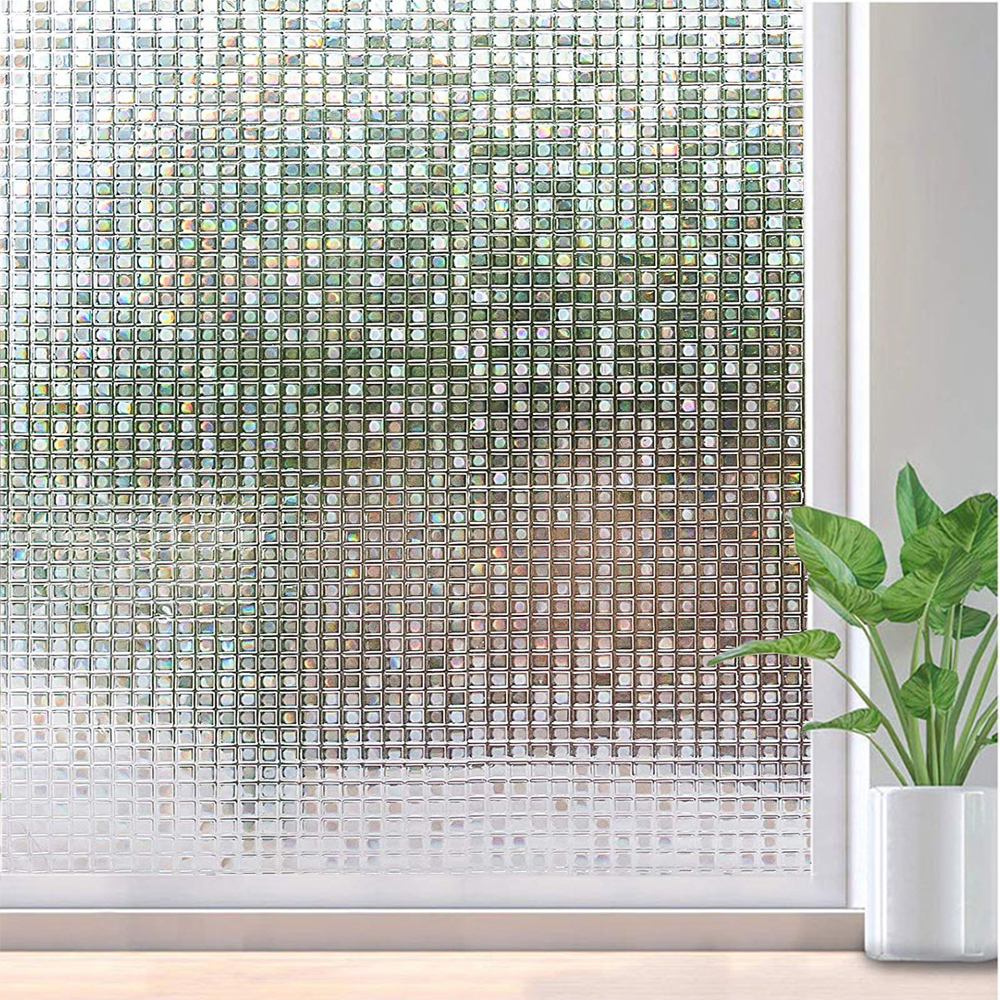 Back To Search Resultshome & Garden Funlife Vinyl 3d Window Film Privacy Window Sticker Static Decorative Glass Film Non-adhesive Heat Control Anti Uv Sturdy Construction