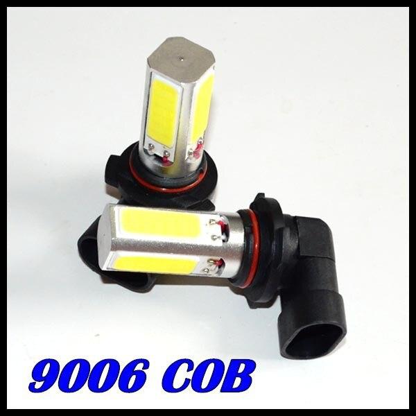 ; набор из 10 х Автомобильный светодиодный противотуманный фонарь 9006 светодиодный 9005 h11 h7 9006 COB день передняя фара для вождения Противотуманные лампы Белый Автомобильный суперъяркий