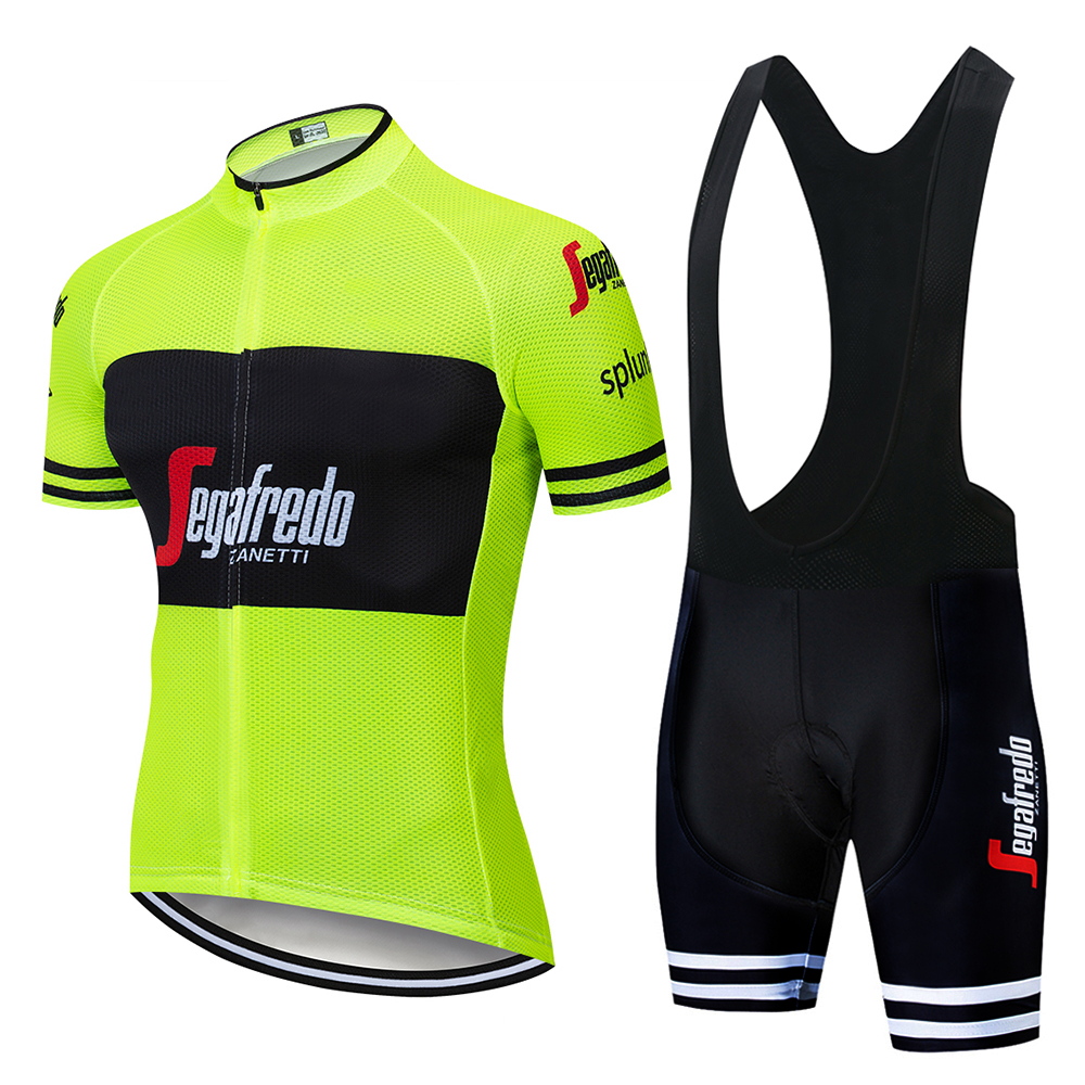 New 2019 TEAM Trekking Cycling Clothing Bike Jersey Shorts Set Ropa Men Pro Jersey Short Sleeves BICYCLING Maillot Culotte