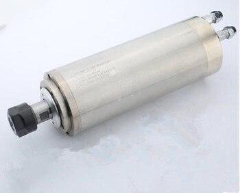 2.2kw 3HP 24000rpm ER16 80mm water cooling spindle motor&2.2kw 3phase 220V VFD inverter&bracket&pump CNC kits