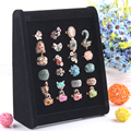 New Mini Ring Holder Jewelry Display Stand Rings Earrings Shelf Showcase Jewelry Organizer Box For Decoration Wholesale