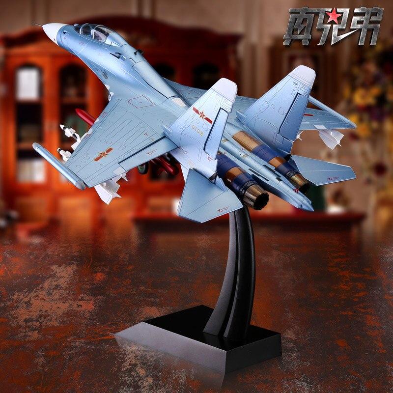 1:48 SU30 Alloy Fighter Model Military Model Crafts Aircraft Ornaments 1 400 jinair 777 200er hogan korea kim aircraft model