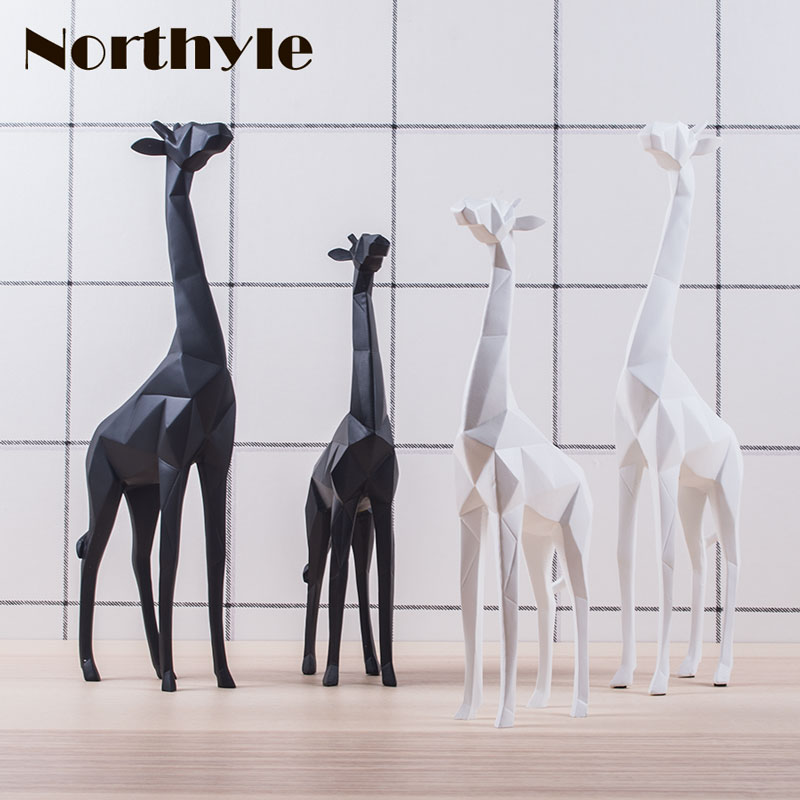 Kopen Goedkoop Dh Moderne Papier Vouwen Stijl Dier Giraffe