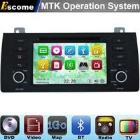 MTK3360 Car DVD Player Cho BMW 5 Series E39 1996-2002X5 e53 2000-2007 với 800 mhz cpu dual core bluetooth đài phát thanh gps navigation