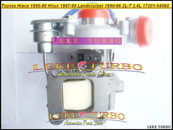 شاحن توربيني طراز CT20 17201-54060 17201-64030 مجاني الشحن لسيارات TOYOTA Hilux Hiace HI-LUX HI-ACE Landcruiser 2LT 2L-T 2L T 2.4L