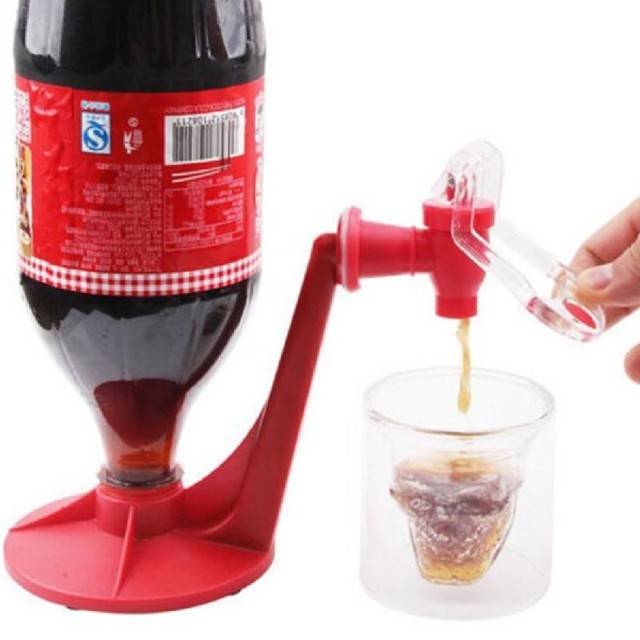 Magic Tap Saver Soda Dispenser Bottle Coke Upside Down Drinking Water Dispense Party Bar Kitchen Gadgets Drink Machines