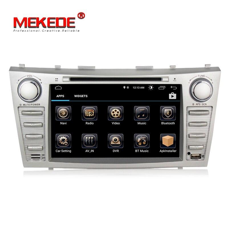 Vente chaude! Meilleur lecteur de radio dvd de voiture Android 8.1 pour Toyota camry 2007 2011 voiture dvd multimédia GPS navigation wifi bluetooth - 3
