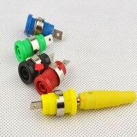 4mm güvenli muz fiş soket R1-24 terminali aletleri multimetre 12mm soket