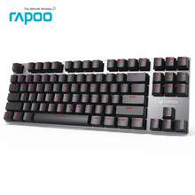 Rapoo V500 Alloy Version Mechanical Gaming Keyboard Teclado with USB Powered for Game Computer Desktop Laptop Black/Brown/Blue