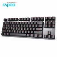 New Promotion Original V500 Keyboards Computer Gaming Keyboard Teclado USB Powered For Desktop Laptop
