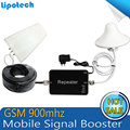 Hot Sell 1set GSM Repeater 900MHz Signal Booster 65dbi 20dBm Cell Phone Boosters Mini Mobile Signal Repeater 65db20dBm Amplifier