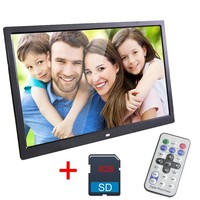 13 Inch Digital Photo Frame 8 GB LED Backlight High Definition 1280 X 800 Electronic Album Picture Music Video Good Gift