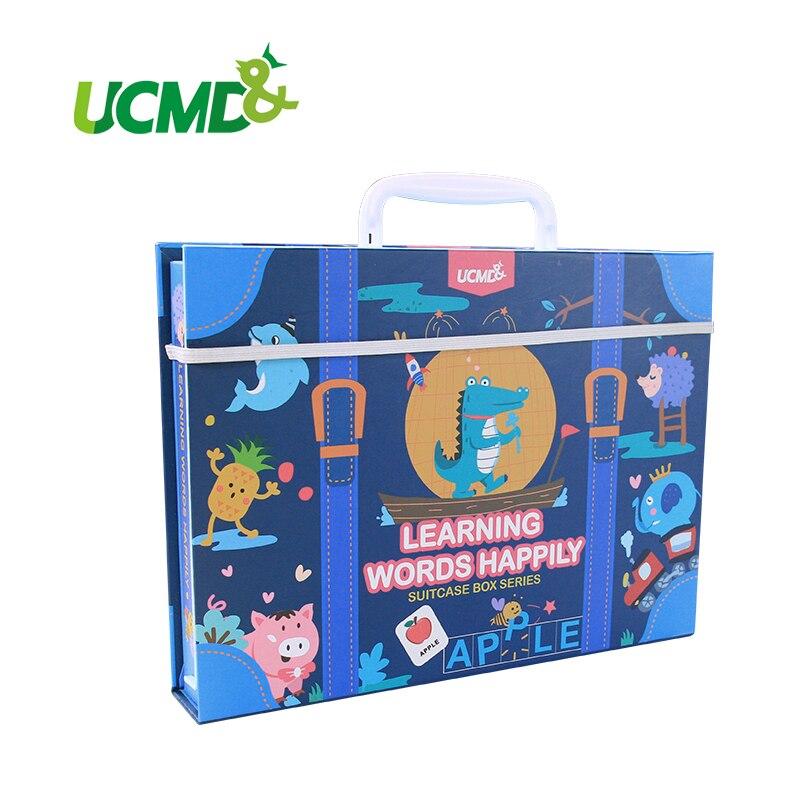 D'apprentissage Anglais Mots de Vue Puzzles Carte Orthographe Magnétique Alphabet Lettres Jeu Apprentissage jouets éducatifs Pour Les Enfants Cadeaux