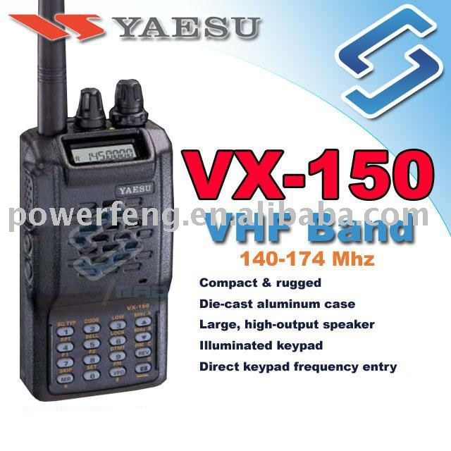 Yaesu vx-150 (genuine operating manual only.