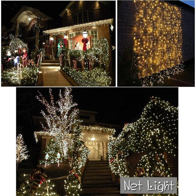 christmas lights net204 led 32m net string lights tree trunk lights for indoor and outdoor events home roof