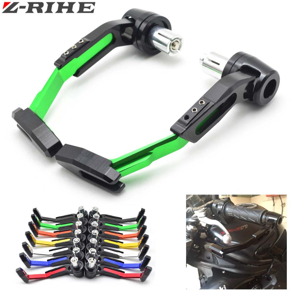 7/8 22mm Motorbike proguard system brake clutch levers protect for Kawasaki ZZR600 ZX6R ZX636R ZX6RR ZX9R ZX10R Z1000 ZX12R KTM 7 8 motorcycle hand protect motorbike brake clutch levers guard falling protection for kawasaki ninja zx6r zx10r z300 zzr1400