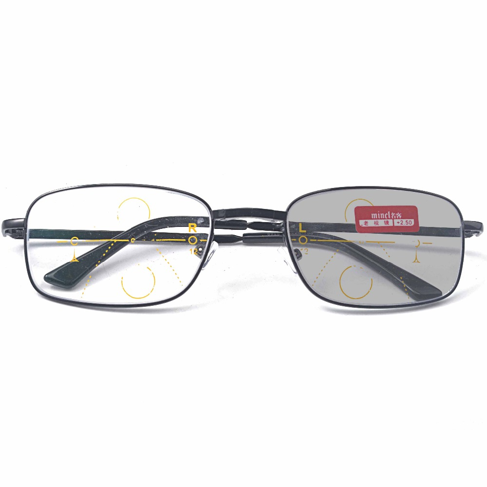 163a2dad94d Progressive reading glasses 8805 Looking far to see near progressive multi  focus color smart reading glasses double glasses JW-in Reading Glasses from  ...
