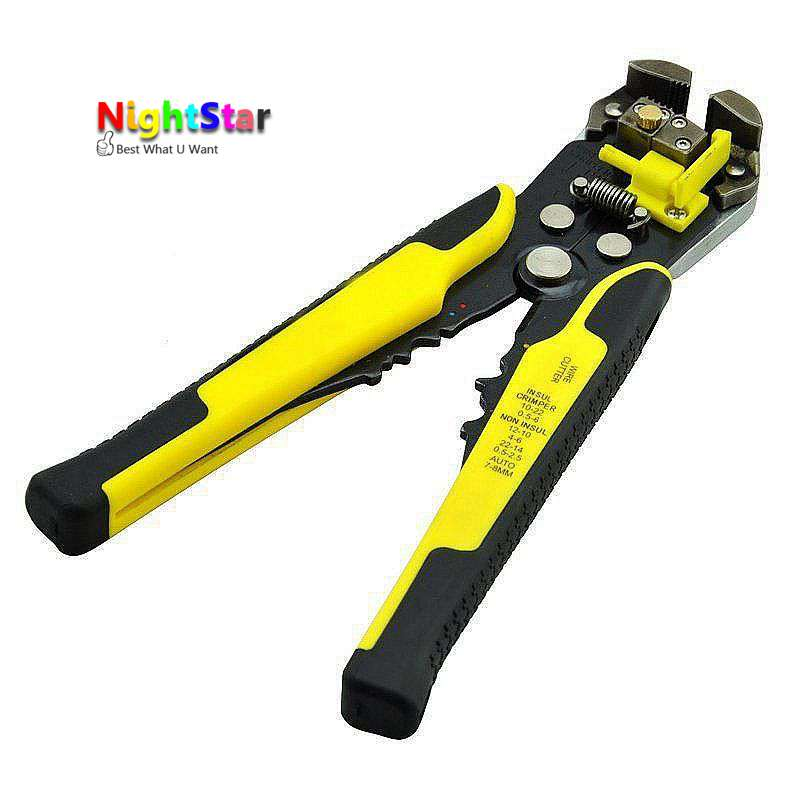 Wire Stripper Cable Cutter Crimper Wire Pliers Automatic Multifunctional TAB Terminal Crimping Stripping Pliers Tools стоимость