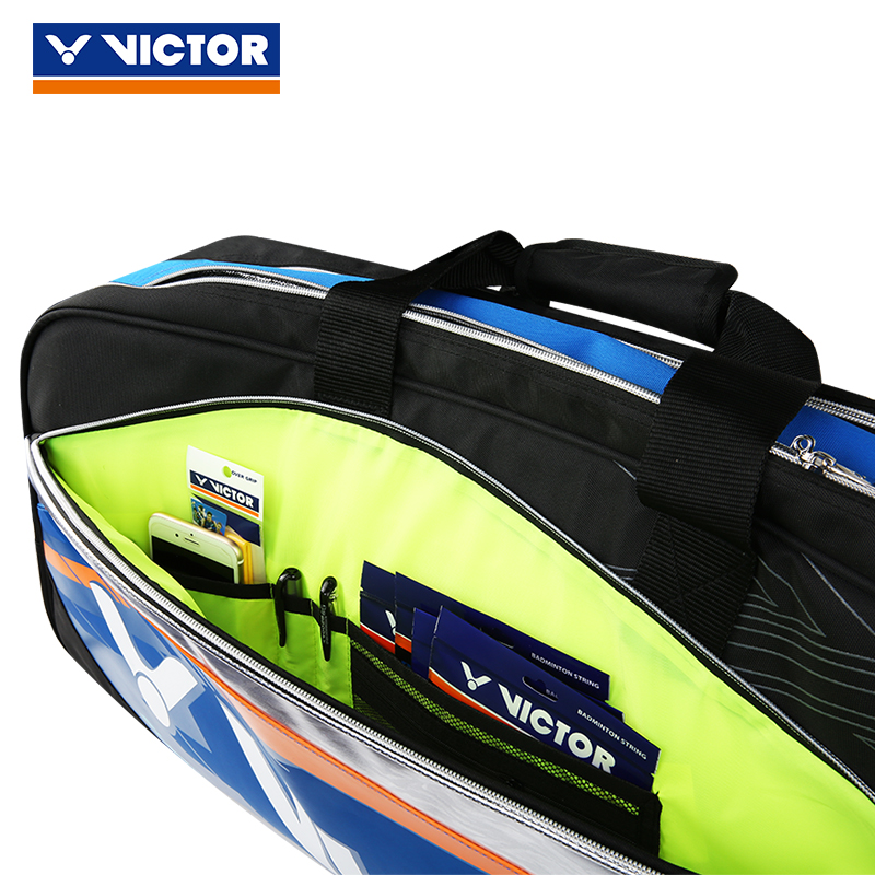 08078049ef VICTOR badminton tennis bag Gym Bags Fitness Travel Outdoor Sports backpack  Handbag Dry Wet shoes bag For Women Men BR9608-in Racquet Sport Bags from  Sports ...