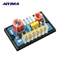 AIYIMA 1Pc Audio Speaker Professional Frequency Divider 200W Audio Bass Treble Two Way Divider Crossover Filters