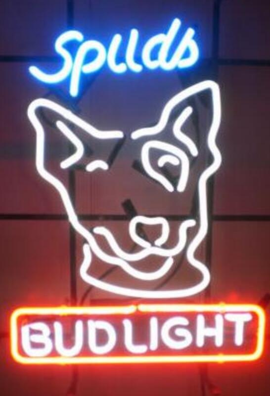 Custom Made Spuds Bud Light Gl Neon