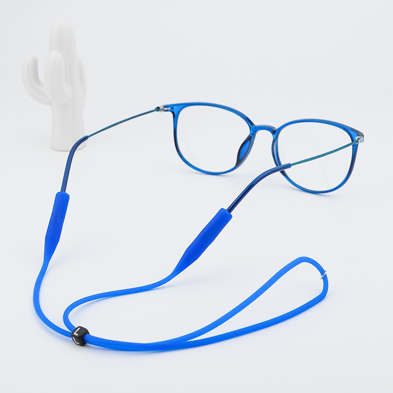 2019 New Women Elastic Candy Color Sport Silicone Glasse Spectacle Cord String Non Slip Ear Hook Holder Sunglasses Strap