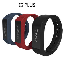 I5 Plus Bluetooth 4.0 Smartband Pedometer Wristband Activity Tracker Health Fitness Tracker Bracelet For Android / ISO