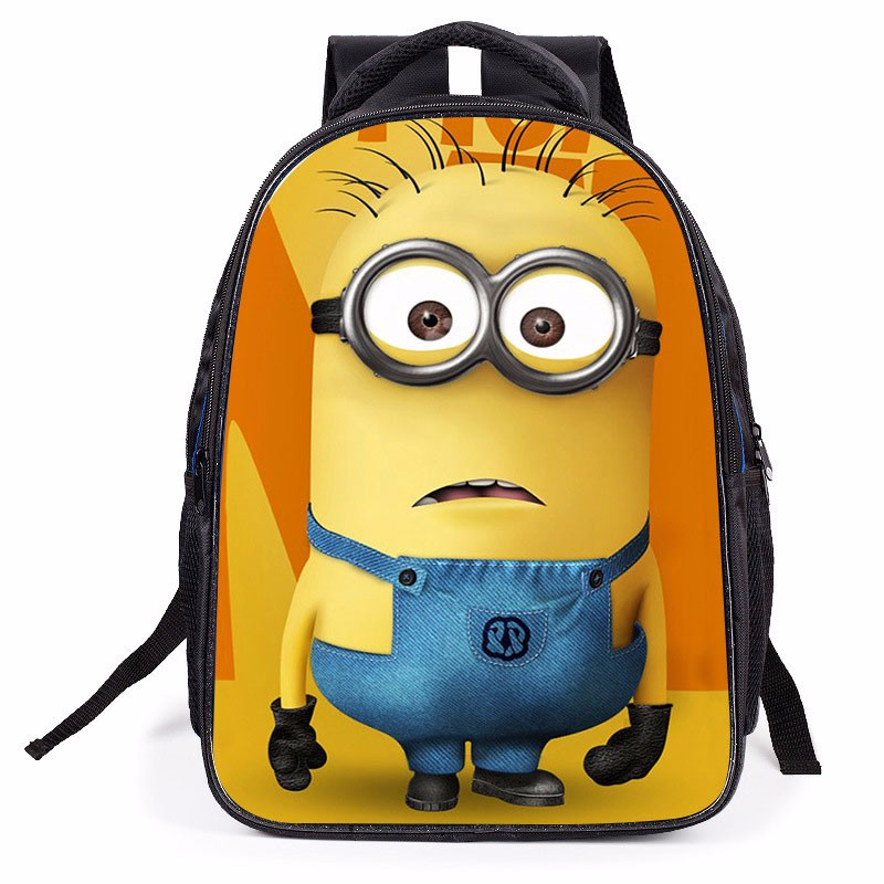 New Fashion Style Minion Backpacks For Kids