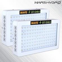 2 шт. MarsHydro 600 W полный ассортимент светодиодный растут гидропоники Панель для внутреннего сада