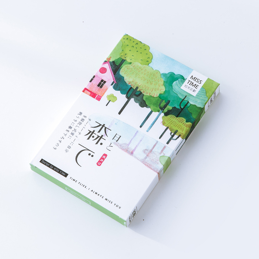 30 Pcs/LOT Forest Postcard /Greeting Card/Wish Card/Christmas And New Year Gifts