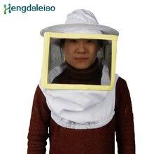 Женская 100% хлопковая квадратная Защитная шляпа с вуалью/фото/защитная
