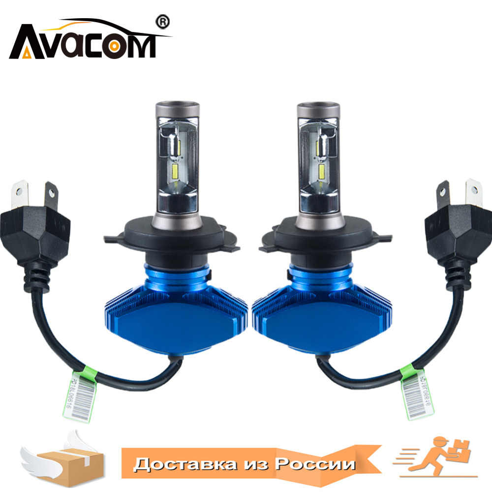 2 Pcs LED H11 H7 Fanless Car Bulbs 6500K White 12V 24V 9005/HB3 9006/HB4 H8 H9 CSP 80W LED H3 H4 Auto Headlamp LED H7 Lampada